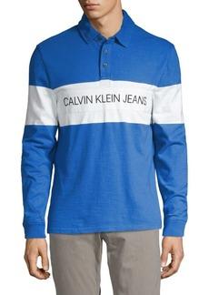 Calvin Klein Logo Rugby Shirt