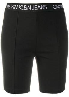 Calvin Klein logo cycling shorts