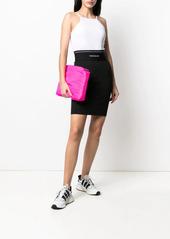 Calvin Klein logo elasticated waistband skirt