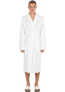 Calvin Klein Logo Embossed Bath Robe