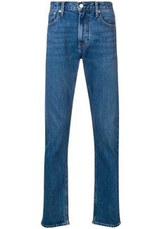 Calvin Klein logo embroidered bootcut jeans
