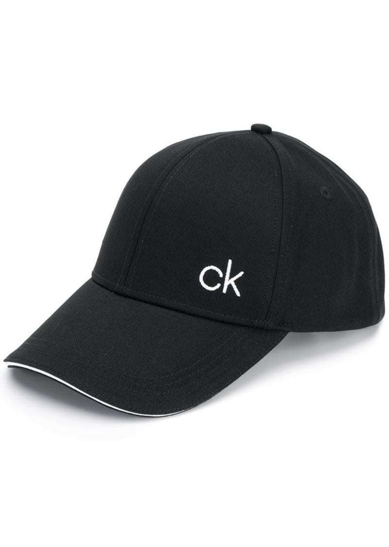Calvin Klein logo embroidered cap