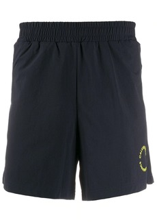 Calvin Klein logo-embroidered running shorts
