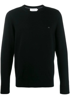 Calvin Klein logo embroidered sweater