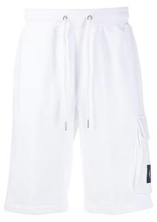 Calvin Klein logo embroidered track shorts