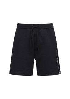 Calvin Klein Logo Embroidery Jersey Cotton Shorts