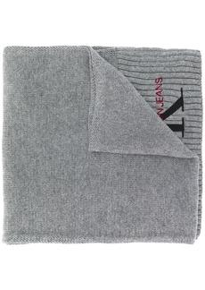 Calvin Klein logo embroidery scarf