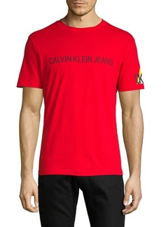 Calvin Klein Logo Graphic Cotton Tee