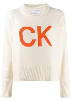 Calvin Klein logo knit jumper