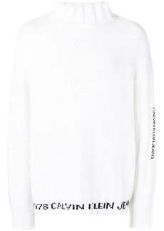 Calvin Klein logo knit sweater