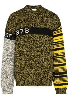 Calvin Klein logo knit sweater