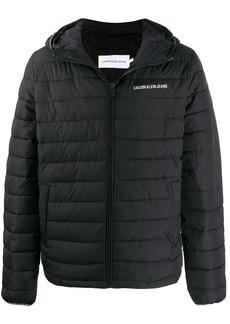 Calvin Klein logo padded jacket