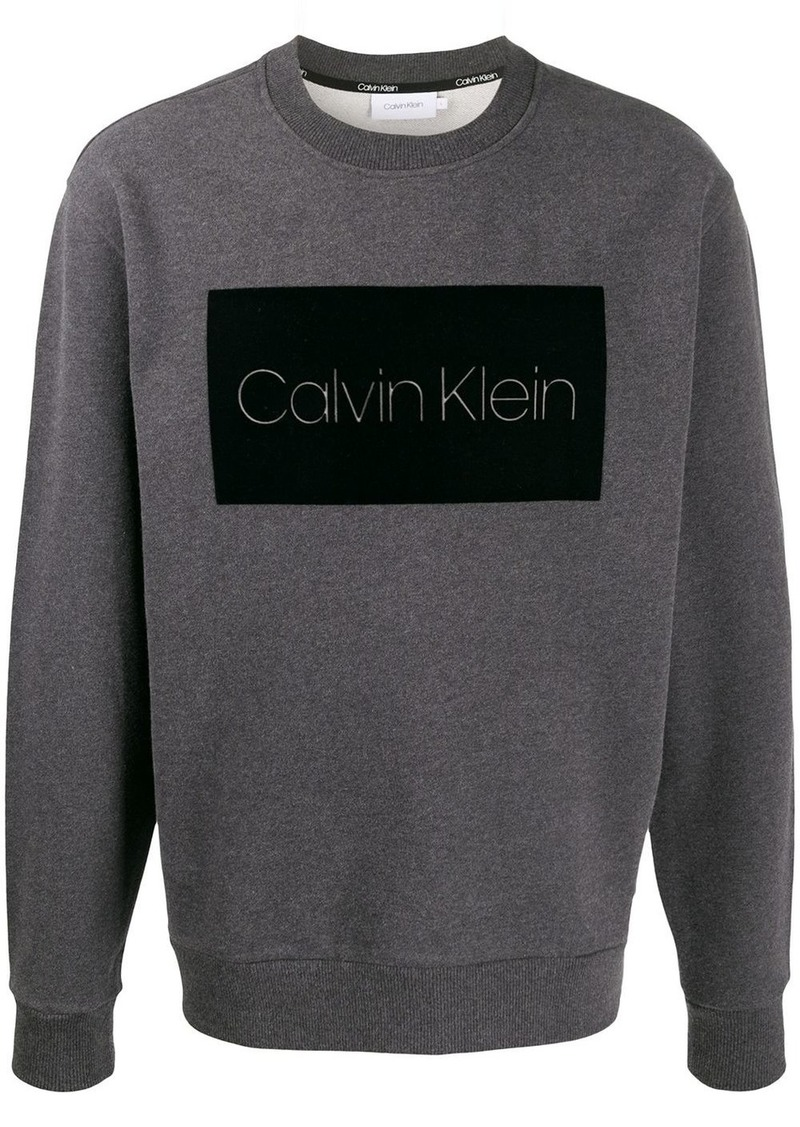 Calvin Klein logo patch jumper