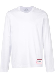Calvin Klein logo patch long-sleeve top
