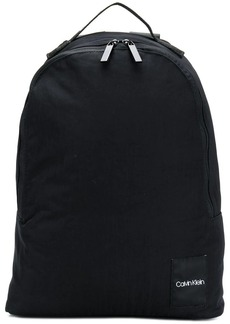Calvin Klein logo patch round backpack