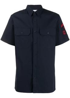 Calvin Klein logo patch shirt