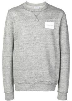 Calvin Klein logo patch sweatshirt