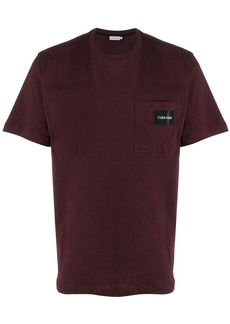 Calvin Klein logo patch T-shirt
