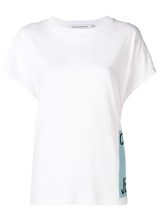 Calvin Klein logo patch T-shirt