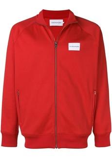 Calvin Klein logo patch track jacket