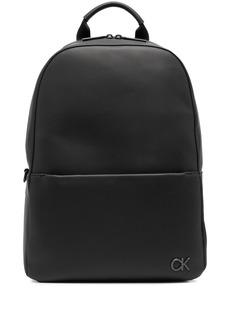 Calvin Klein logo-plaque backpack