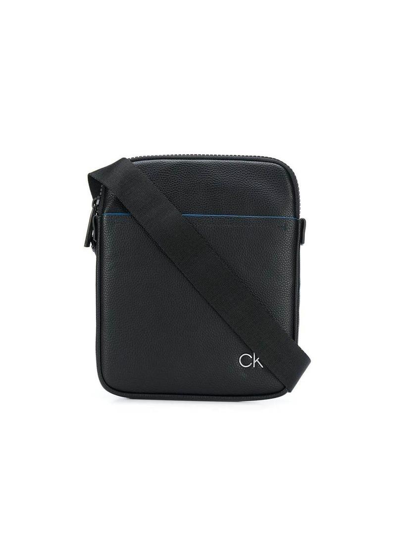 Calvin Klein logo plaque messenger bag