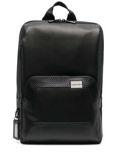 Calvin Klein logo-plaque square backpack