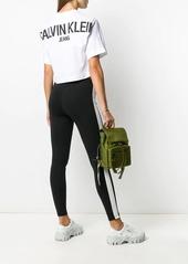 Calvin Klein logo-print cotton T-shirt