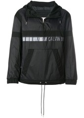 Calvin Klein logo print pullover jacket