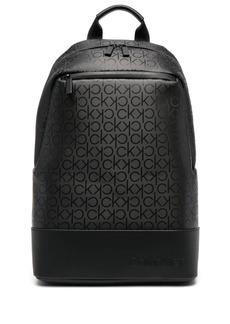 Calvin Klein logo-print recycled polyester backpack
