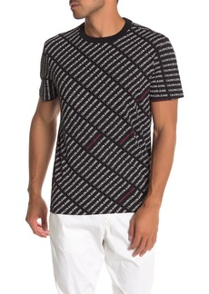 Calvin Klein Logo Print Short Sleeve T-Shirt