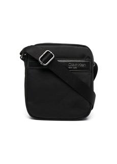 Calvin Klein logo print shoulder bag
