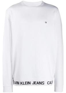 Calvin Klein logo print sweatshirt