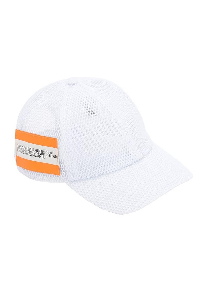 Calvin Klein Logo Print Tech Cap