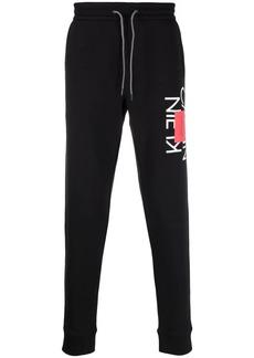 Calvin Klein logo print track pants
