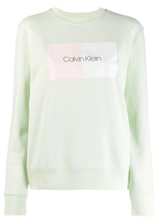 Calvin Klein logo printed sweatshirt