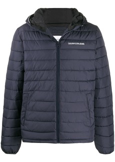 Calvin Klein logo puffer jacket