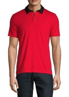 Calvin Klein Logo Short-Sleeve Polo