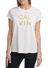 Calvin Klein Logo Short Sleeve Shirt