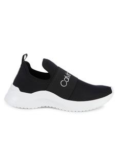Calvin Klein Logo Slip-On Sneakers