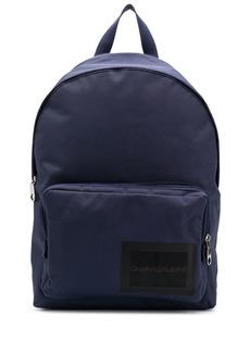Calvin Klein logo stamp backpack