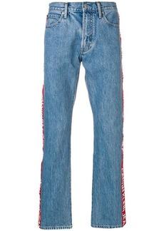 Calvin Klein logo stripe jeans