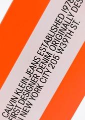 Calvin Klein logo tag keyring