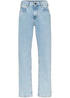 Calvin Klein logo tag straight leg jeans