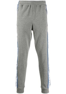 Calvin Klein logo tape track pants