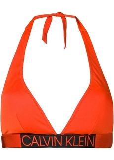 Calvin Klein logo waistband bikini top