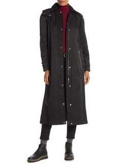 Calvin Klein Long Hooded Anorak Jacket