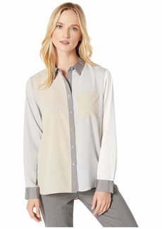 Calvin Klein Long Sleeve Color Block with Pocket