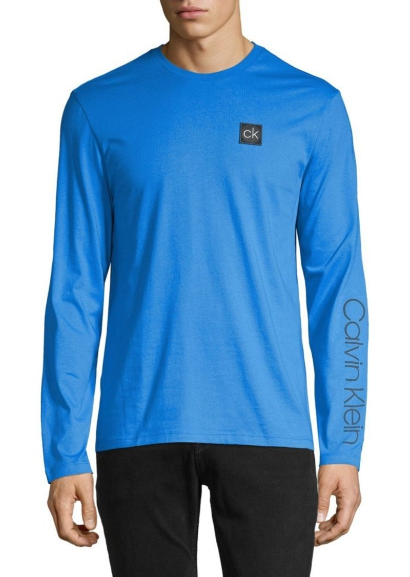 Calvin Klein Long-Sleeve Cotton Tee
