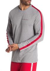 Calvin Klein Striped Long Sleeve Lounge T-Shirt